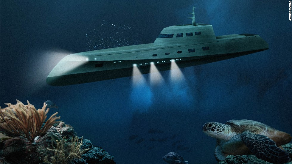 Lovers Deep is geared up to take wealthy holidaymakers under the sea for £175,000 ($292,000) per night.