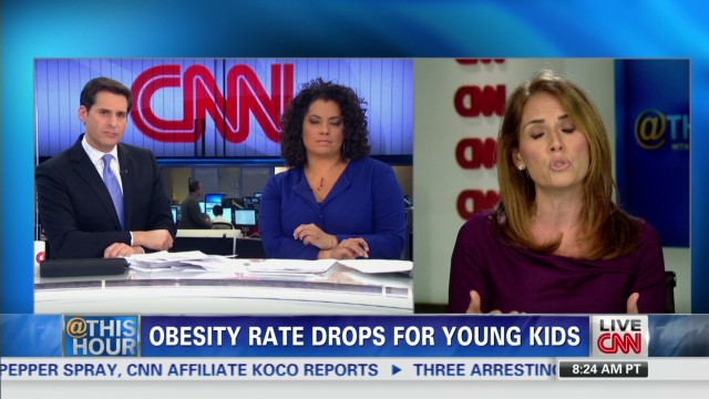 Obesity rate drops for young kids