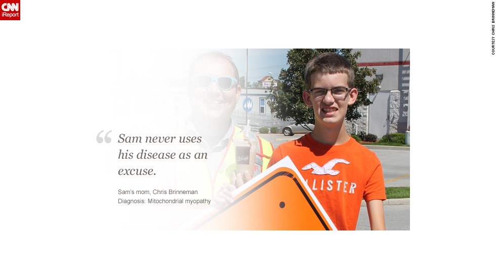 "<a href=""http://ireport.cnn.com/docs/DOC-1078555"">Read Sam's story on iReport.</a>"