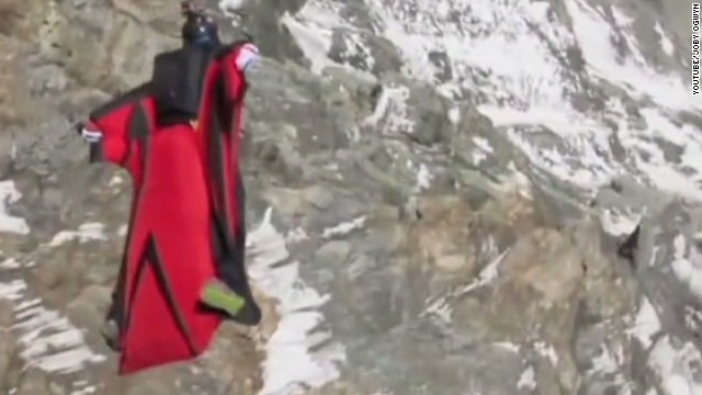 Wingsuit jumper to take on Mt. Everest