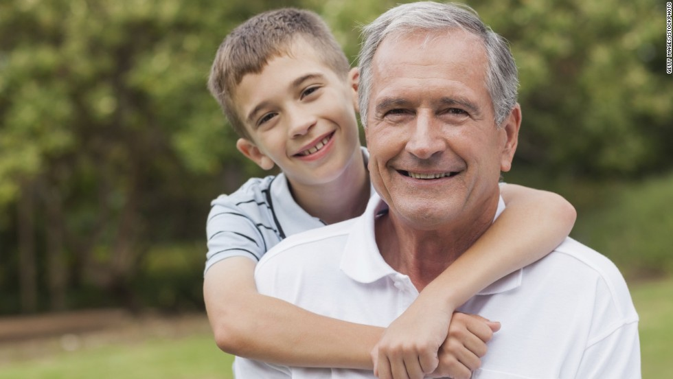 What's at stake for older dads? 140227165124 older father son 2 horizontal large gallery