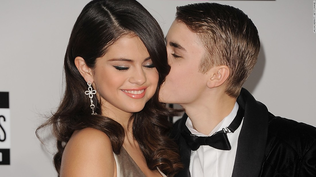 "<a href=""http://marquee.blogs.cnn.com/2011/09/26/bieber-takes-over-staples-center-for-date-night/?iref=allsearch"">Justin Bieber swept the slightly older Selena Gomez off her feet</a>, and the two were <a href=""http://www.eonline.com/news/518860/omg-justin-bieber-reunites-with-selena-gomez-after-he-storms-out-of-deposition-get-the-scoop"" target=""_blank"">on and off </a>for a while. Although their relationship appeared to end for good in 2013, they spent an awful lot of quality time together in 2014 before finally going their separate ways."