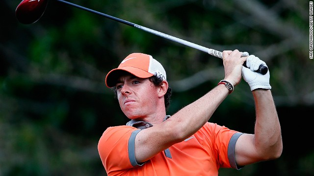 Rory McIlroy finished at the top of the leaderboard after day one of the Honda Classic in Florida.