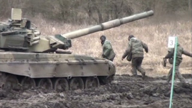 Tensions rising in Ukraine