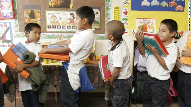 A law banning bilingual education in California schools may be overturned by a new bill.