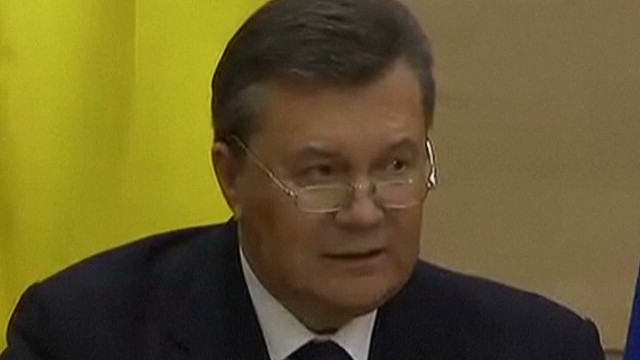 Fmr. Ukraine Pres.: I was not overthrown