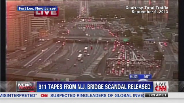 911 audio from bridge scandal released