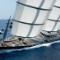Maltese falcon sailing