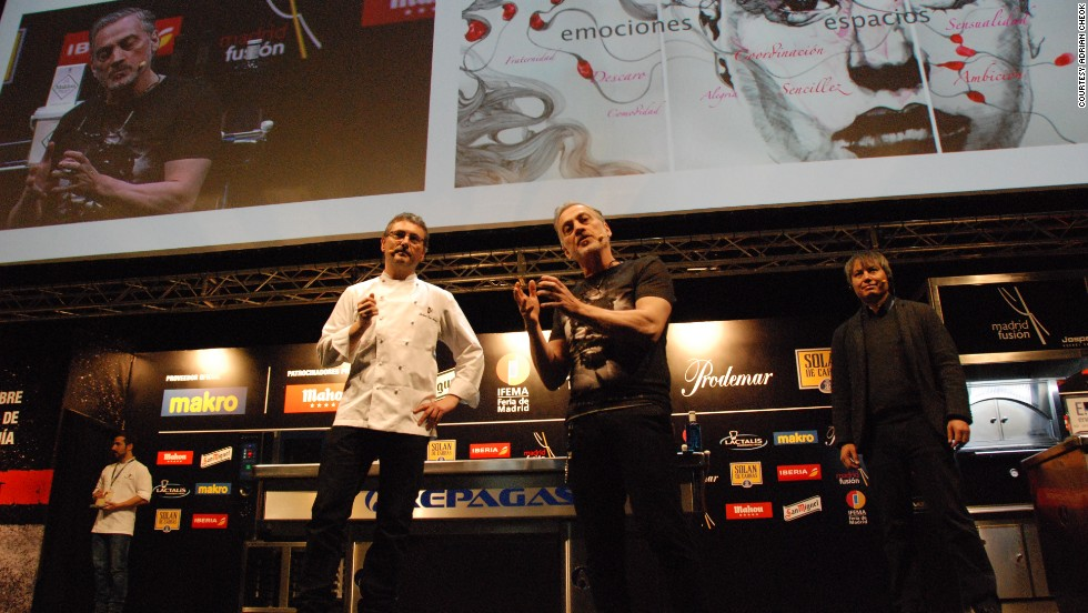 """Dr Cheok (right) is hoping to change this. Alongside chef Andoni Luis Aduriz, he presented the """"<a href=""""http://www.theneweconomy.com/technology/using-mobiles-to-smell-how-technology-is-giving-us-our-senses-video"""" target=""""_blank""""><strong>world's first digital smell app</a></strong>"""" at the Madrid Fusion 2014 food festival."""