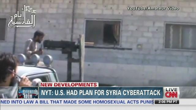 Syria: U.S. Cyber-Strike