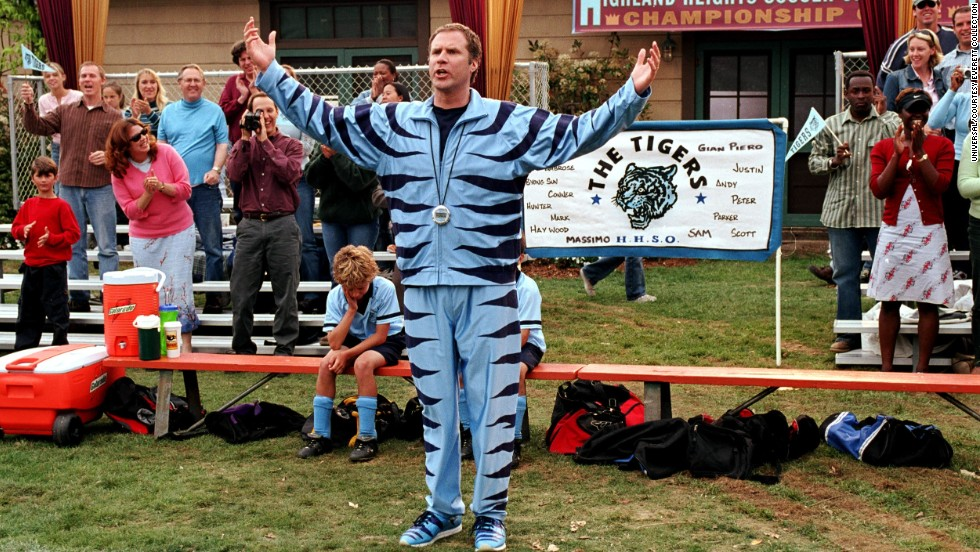 "Will Ferrell does plenty of ""Kicking & Screaming"" in this 2005 movie."