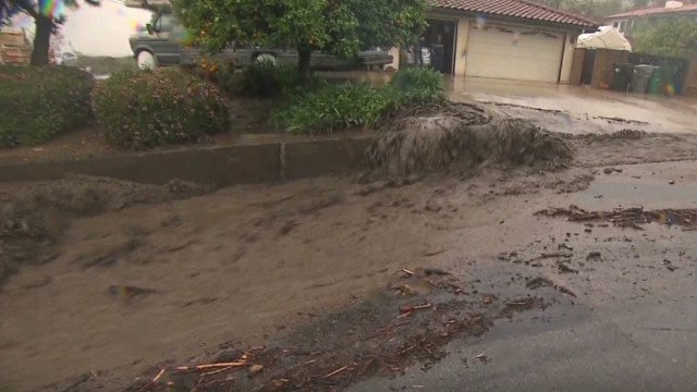 Mudslides wreak havoc on Southern Calif.
