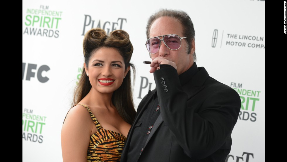 Valerie Vasquez and Andrew Dice Clay