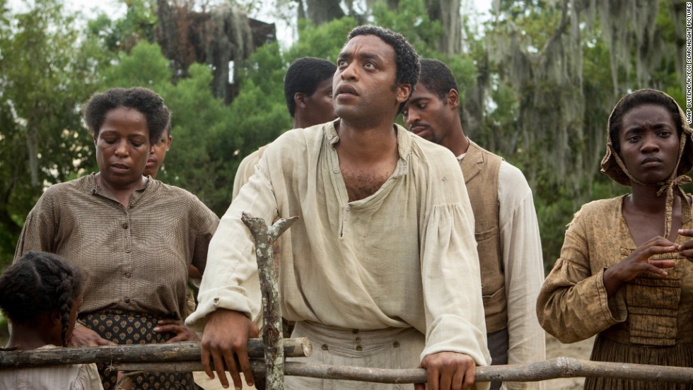 "<strong>Best adapted screenplay:</strong> John Ridley, ""12 Years a Slave"""