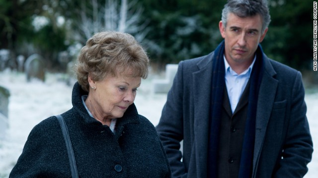 "Best actress nominee: Judi Dench in ""Philomena"""