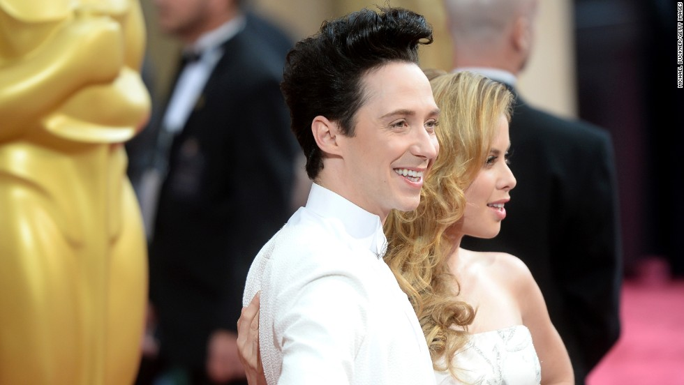Johnny Weir and Tara Lipinski