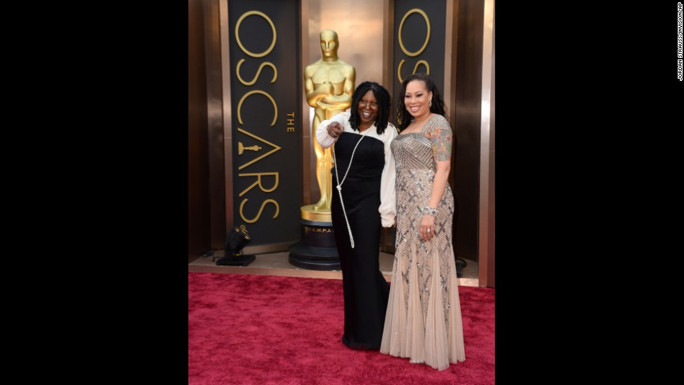 Whoopi Goldberg and her daughter, Alex Martin