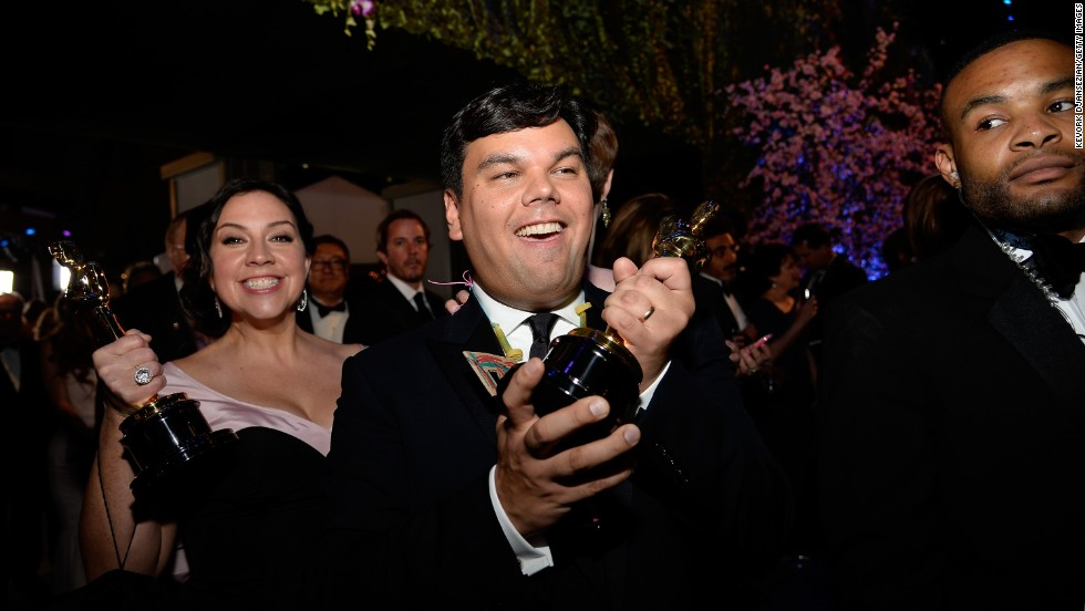 "Robert Lopez became the latest member of the EGOT club in 2014 when his song ""Let It Go"" -- written with his wife, Kristen Anderson-Lopez, left, for the animated film ""Frozen"" -- won the Oscar for best song. His other honors include Tonys for ""Avenue Q"" and ""The Book of Mormon,"" Emmys for ""Wonder Pets"" and a Grammy for the ""Book of Mormon"" cast album."