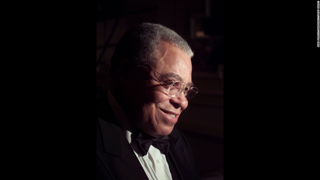 "James Earl Jones won a Tony for 1968's ""The Great White Hope"" and another almost two decades later for 1987's ""Fences."" He also has three Emmys and a 1977 Grammy for a spoken-word recording. His Oscar, given at the 2011 awards, is honorary."