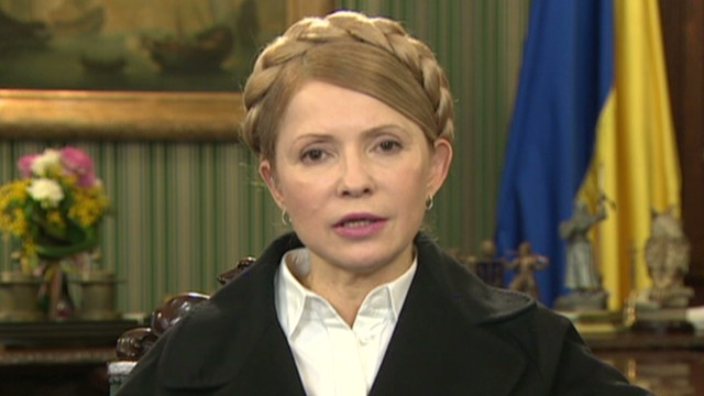 EXCLUSIVE: Tymoshenko speaks to CNN