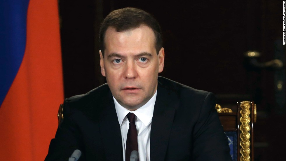 "<strong>Russian Prime Minister Dmitry Medvedev: </strong>In a post on his official Facebook page, Medvedev called Yanukovych's ouster a ""seizure of power."" ""Such a state of order will be extremely unstable,"" Medvedev said. ""It will end with the new revolution. With new blood."""
