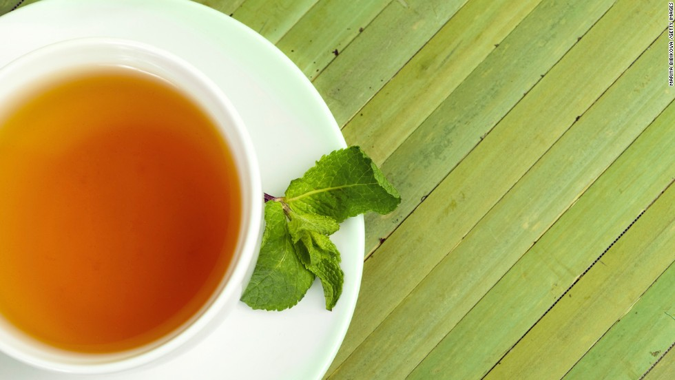 "<strong>End your meal with a new kind of sweet treat </strong><br /><br />Many people have trained themselves to expect a sweet treat at the end of a meal, says Blatner. Swap in a new, healthier ritual after meals to signal that you're done eating. She recommends brewing a flavorful decaf tea like peppermint, cinnamon, chocolate, or one of your favorite fruity varieties for low- or-no-calorie sweet-tooth satisfier. <br /><em><br />This article originally appeared on </em><em><a href=""http://www.health.com/health/gallery/0,,20769037,00.html"" target=""_blank"">Health.com</em></a><em>. </em>"