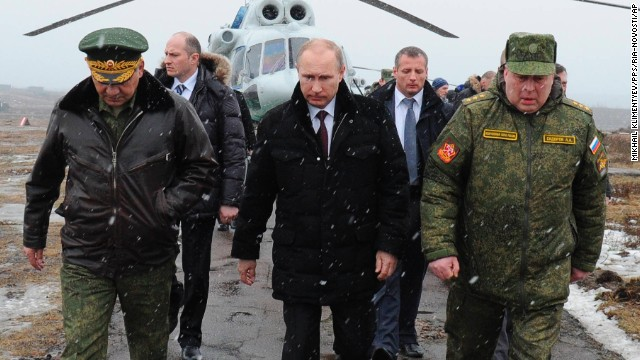 How far will Putin go in Ukraine?
