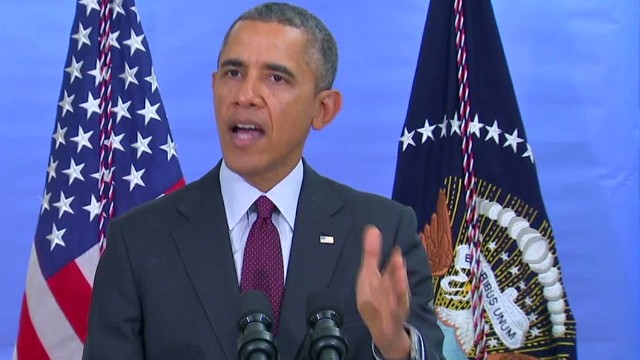 Obama: We need to de-escalate this crisis