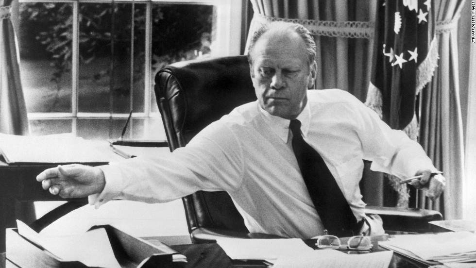 "Gerald Ford, the 38th president, enjoyed pot roast and red cabbage with butter pecan ice cream for dessert, according to the <a href=""https://www.fordlibrarymuseum.gov/grf/grffacts.asp"" target=""_blank"">Gerald R. Ford Presidential Library and Museum</a>."