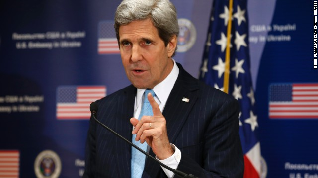 Kerry: Russia can choose de-escalation
