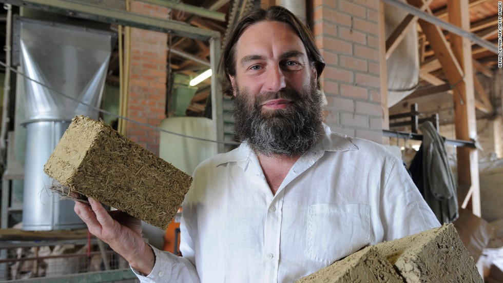 "Natural building materials are a popular choice for those looking to cut CO2 emissions. Making bricks from hemp results in a net decrease in carbon dioxide levels, as the growing plant takes in CO2. These bricks are made of hemp combined with clay, while <a href=""http://www.huffingtonpost.com/2012/05/10/hempcrete-hemp-house_n_1506662.html"" target=""_blank""><strong>Hempcrete</a></strong> (a mixture of hemp and lime) is sold internationally as a thermal walling material."