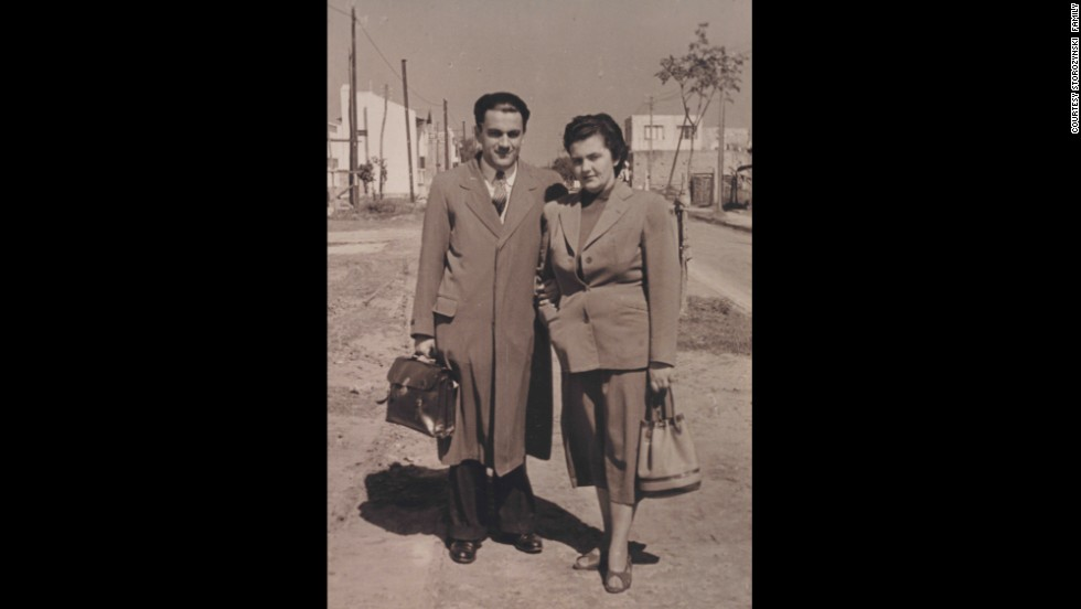 Dionizy Storozynski and Irena Krzyzanowska met and married in Buenos Aires, Argentina, in the early 1950s.