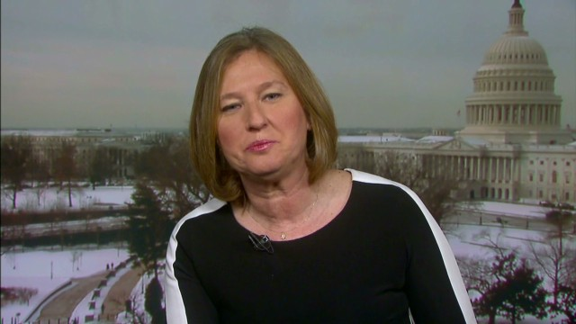 Livni explains concern over Iran talks