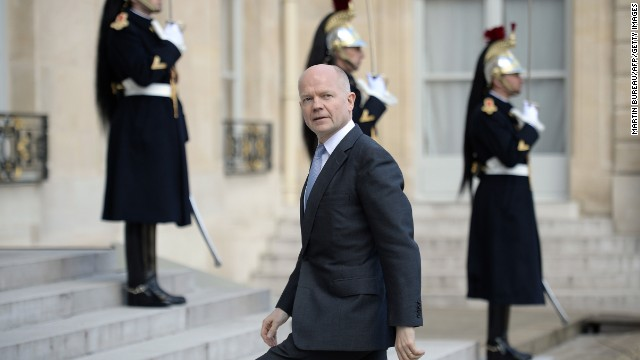 Hague out as UK Foreign Secretary
