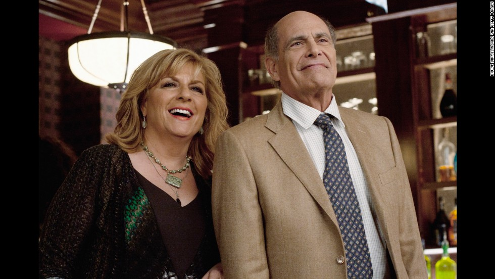 "After ""L.A. Law,"" Rachins did a 180 from the buttoned-down Brackman, starring as Dharma's hippie dad Larry on ""Dharma and Greg."" He's appeared in several TV movies and series, including recent spots on ""Happy Endings"" (seen here, with Caroline Aaron), ""Rizzoli & Isles"" and ""The Crazy Ones."""