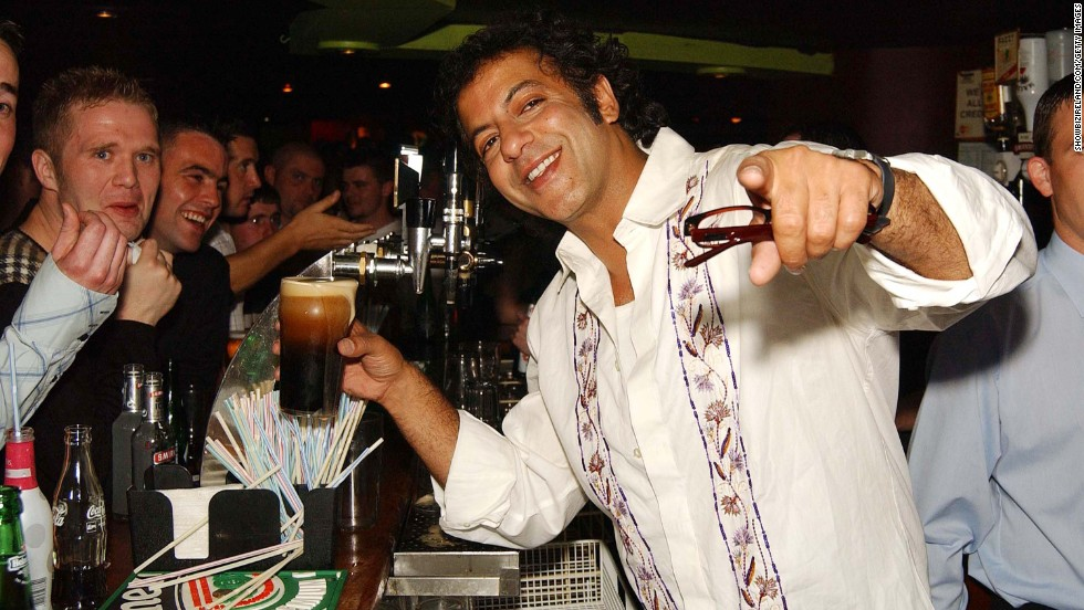 """Coronation Street"" star Jimmi Harkishin (Dev Alahan) isn't going to be at this bar every night, for everyone to meet. Mentioning your chance encounter isn't useful."