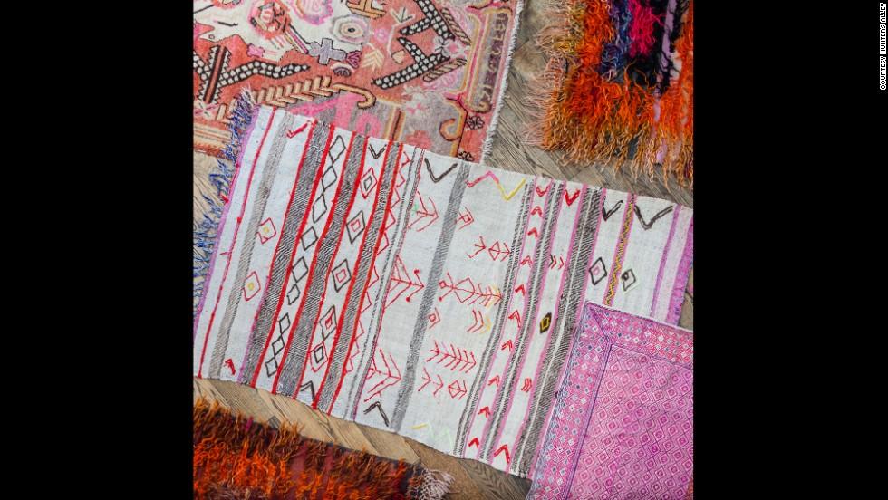 Vintage rugs.