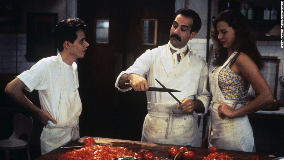 "<strong>""Big Night"" (1996):</strong> Abbondanza! This film starring Marc Anthony, Tony Shalhoub and Minnie Driver is loaded with carbs and involves a failing Italian restaurant that has a single night to turn it all around."