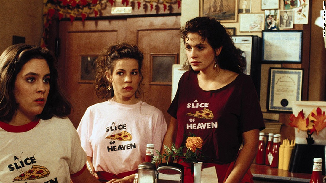 "<strong>""Mystic Pizza"" (1988):</strong> A young Annabeth Gish, Lili Taylor and Julia Roberts star in this coming-of-age drama about a group of girls working at a pizza parlor."