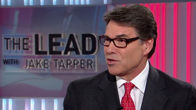 Rick Perry reacts to Cruz at CPAC