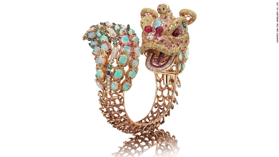 "Asia's biggest combined jewelry show opened in Hong Kong this week. The dual shows feature thousands of exhibitors from 52 countries. Dai Sun Jewellery's ""The Inheritance"" (pictured) is made from 18K rose gold diamond bangle with ruby, sapphire, garnet and opal. It won JMA International Jewelry Design Competition's Best Craftsmanship Award last year."