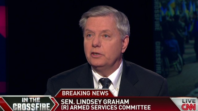 Crossfire Sen. Graham In the last 24 hrs Obama's done a very good job_00005930.jpg