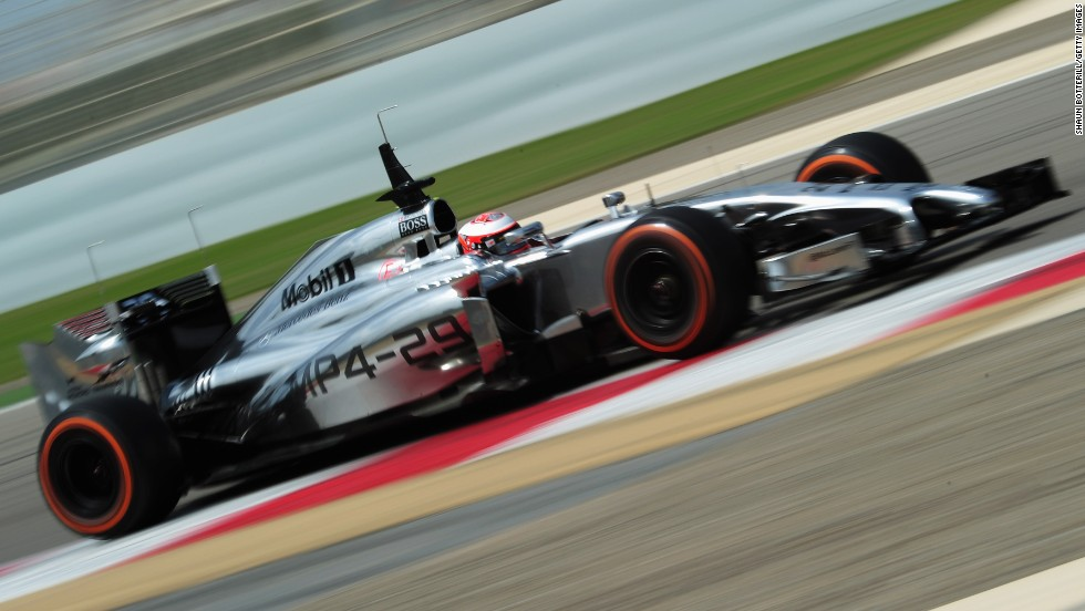 Three rookies will line up in Melbourne. Denmark's Kevin Magnussen (pictured) debuts for McLaren while Sweden's Marcus Ericsson makes his bow at Caterham and Russian Daniil Kvyat comes in at Toro Rosso.