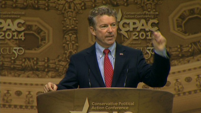 Sen. Paul slams NSA spying at CPAC