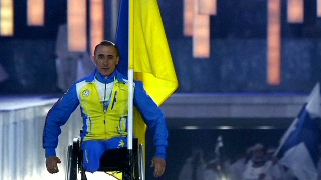 Ukraine paralympians compete in Sochi