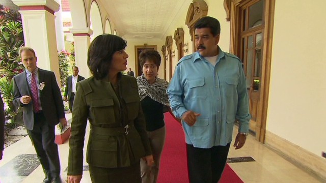 PART 1: Maduro speaks to Amanpour
