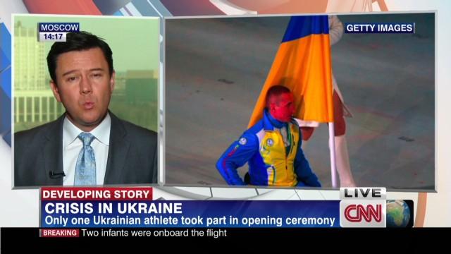 Symbolic protest at Sochi's Paralympics