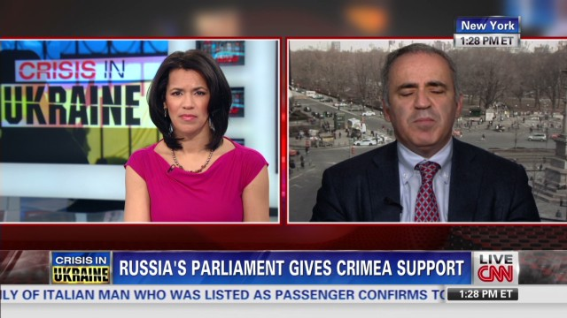 Will Putin stop at Crimea?