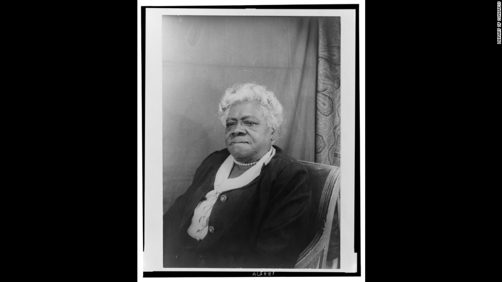 "<a href=""http://www.ncnw.org/about/bethune.htm"" target=""_blank"">Mary McLeod Bethune </a>created the National Congress of Negro Women, Bethune-Cookman College and served as an adviser to Franklin D. Roosevelt."