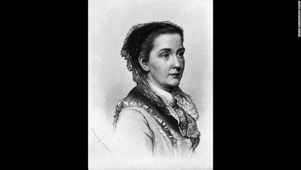 "American feminist, abolitionist and <a href=""http://www.juliawardhowe.org/bio.htm"" target=""_blank"">reformer Julia Ward Howe</a> was a co-editor and writer for the Woman's Journal, a key player in creating Mother's Day and the first female admitted to Society of Arts and Letters. She is best known for writing the ""Battle Hymn of the Republic."""